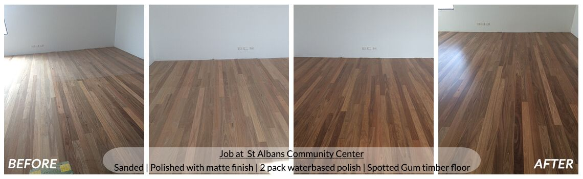 Timber Floor Sanding & Polishing Melbourne Services