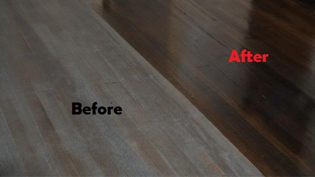 timber floor polishing Melbourne