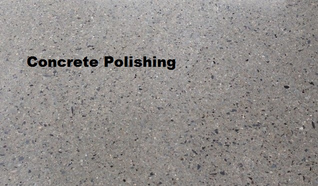 concrete polishing finishing