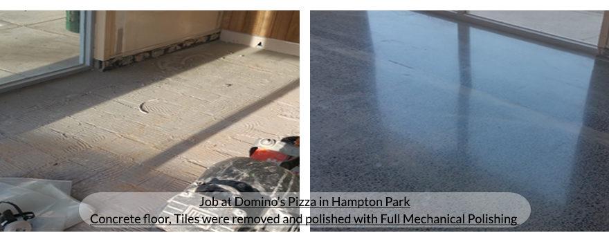 concrete polishing in Melbourne