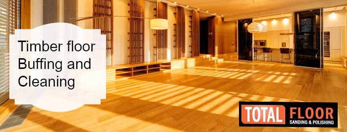 timber floor buffing and cleaning services in Melbourne