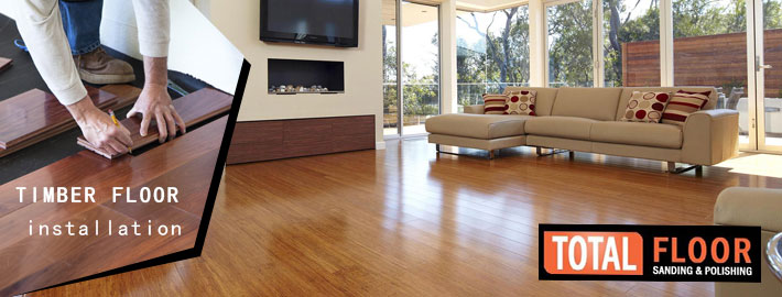 timber floor installation in Melbourne