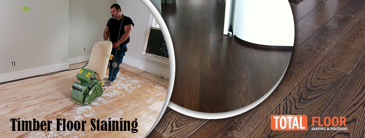 timber floor stainings