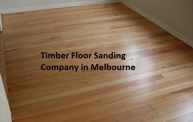 Timber Floor Sanding Company in Melbourne