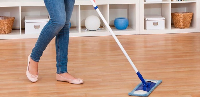 Timber floor buffing and cleaning Melbourne