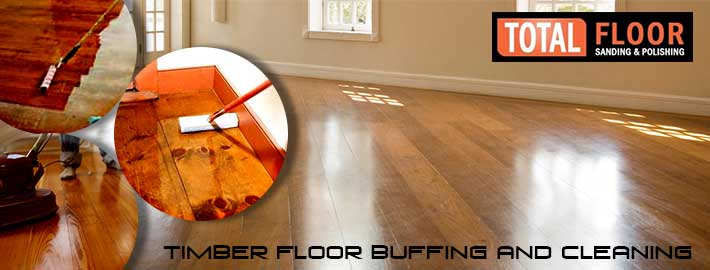 Timber floor buffing and cleaning in Melbourne