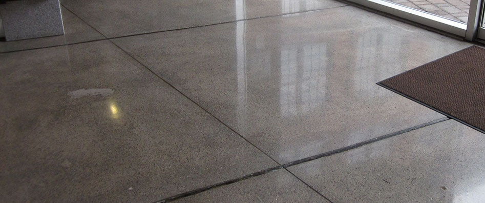 commercial polished concrete Melbourne