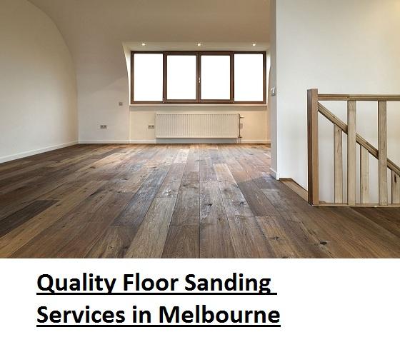 floor sanding services in Melbourne
