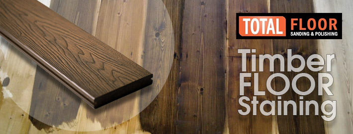 timber floor staining services in Melbourne