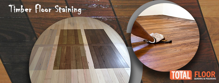 Timber Floor Staining