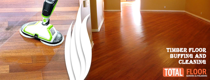 Timber floor buffing and cleaning