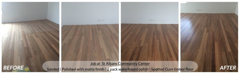 Timber Floor Sanding & Polishing Melbourne Services